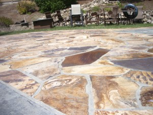 Flagstone Patio Pressure Wash And Sealing In San Ramon, ...
