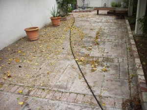 Pressure wash concrete patio in walnut creek ca for Pressure wash concrete patio